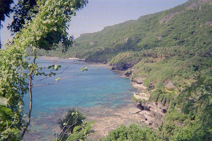 Rota, al sur de las Marianas del norte.File:Rota Island in the Commonwealth of Northern Mariana Islands.jpg