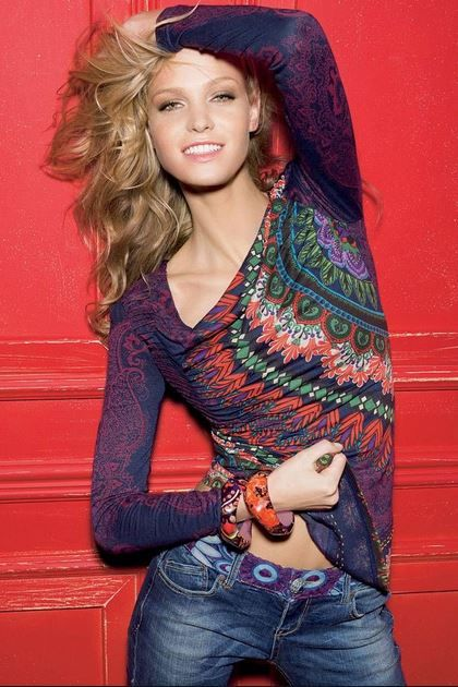 Love this Spanish brand. Try something different at Desigual!