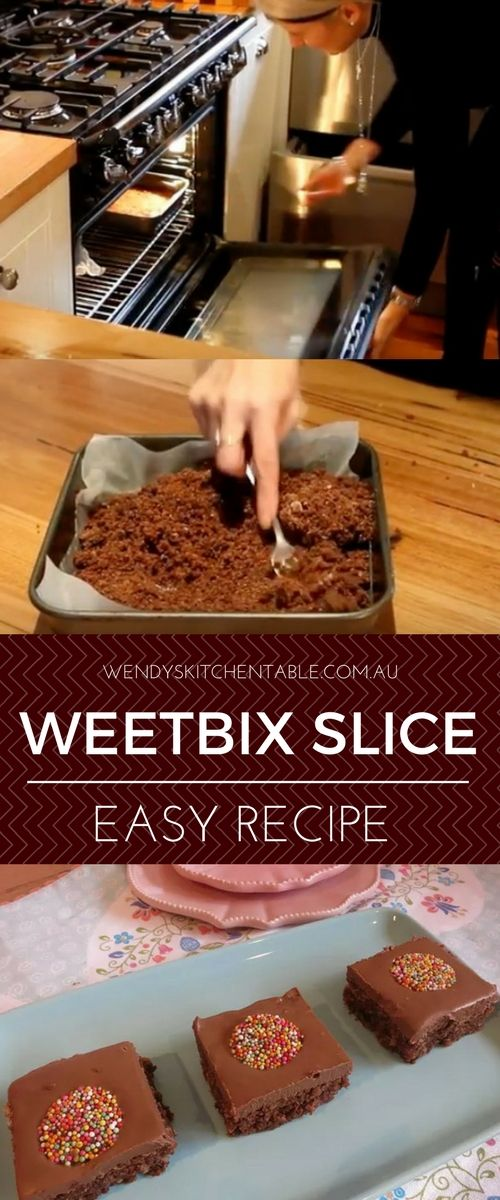Weetbix Slice Easy Old Fashioned Recipe