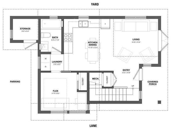 33 best Laneway House images – Laneway House Floor Plans