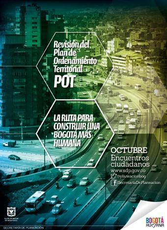 Bogotá se prepara para la Revisión del POT - Plan de Ordenamiento Territorial