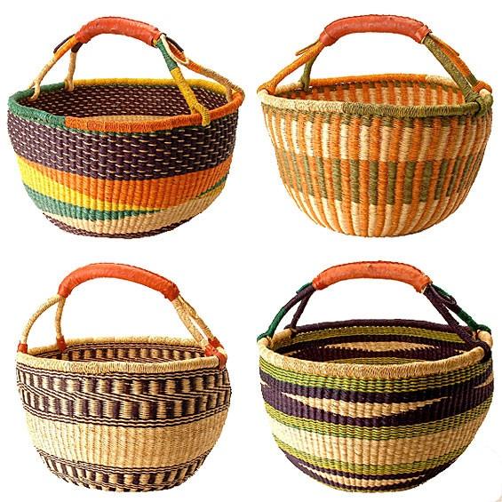 Ghanaian Bolga Farmers Market Shopper Basket: Ghana Bolga, Marketing Shopper, Ghanaian Bolga, Marketing Baskets, Farmers Marketing, Farmers' Market, Bolga Farmers, Bolga Baskets, Shopper Baskets