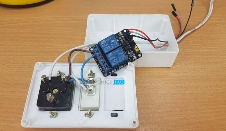 Arduino Controlled Power Outlet Image 1