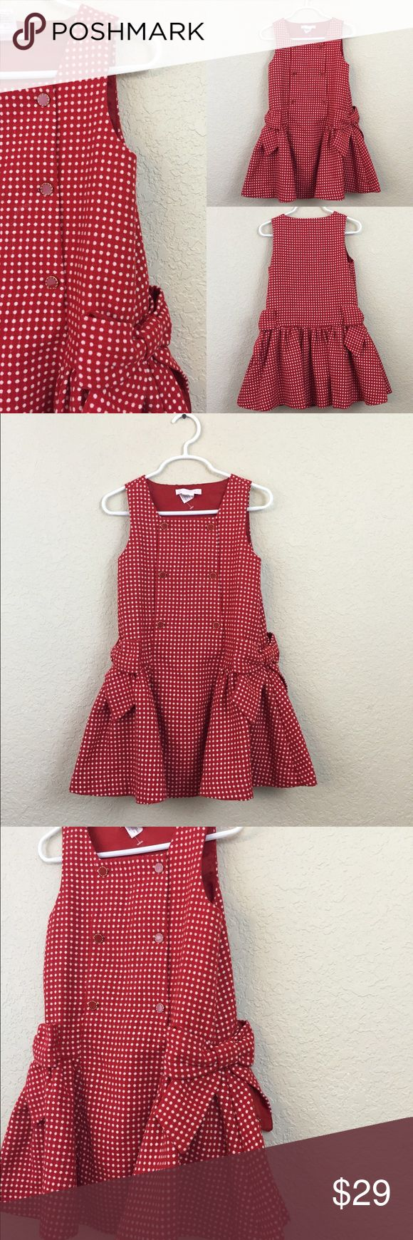 Janie and Jack Polka dot dress Jamie and Jack wool polka dot dress size 4 $79 pre loved Janie and Jack Dresses Formal