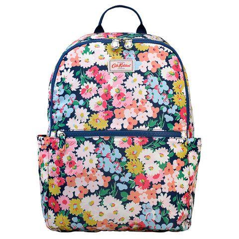 Cath Kidston Daisy Bed foldaway backpack