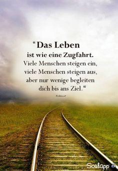 Das Leben ist wie eine Zugfahrt…