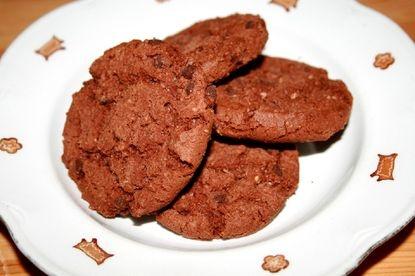 American cookies - @Elisa Bieg Hatanpää oli laittanut näihin Lontoon rae -suklaata, oli kiva tvisti.
