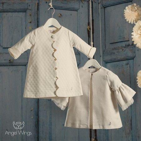 d0eb6525d91a Βαπτιστικό φόρεμα για κορίτσι Angel Wings | Μαντό Crystal ...
