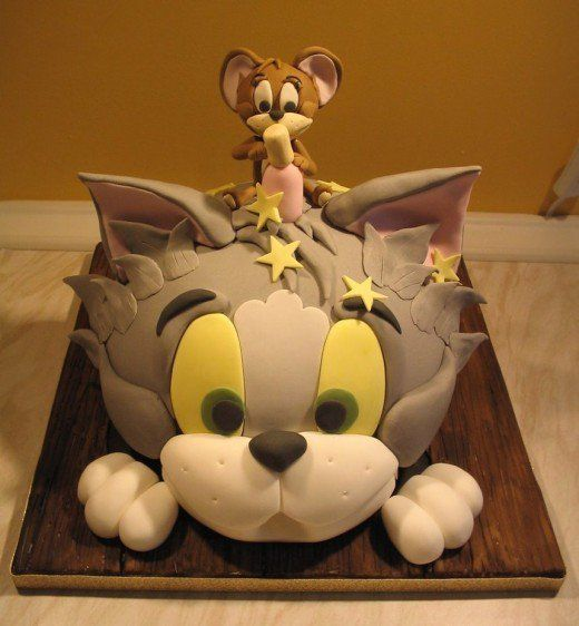 160 best Cakes  Tom  Jerry images on Pinterest  Jerry oconnell