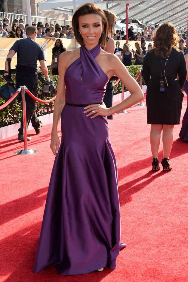 Giuliana Rancic Fashion At The 2014 SAG Awards Red Carpet