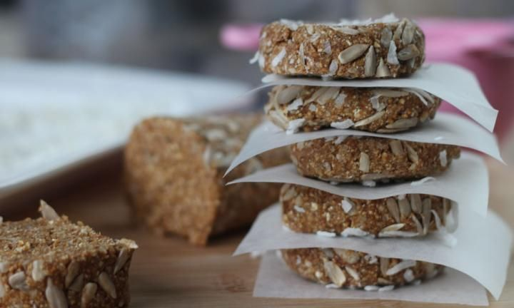 These no-bake trail mix cookies have all the delicious flavours of a healthy snack with none of the baking pain. Whizz up a batch up and enjoy the healthy satisfaction of no added sugar and all fruit and seed goodness.