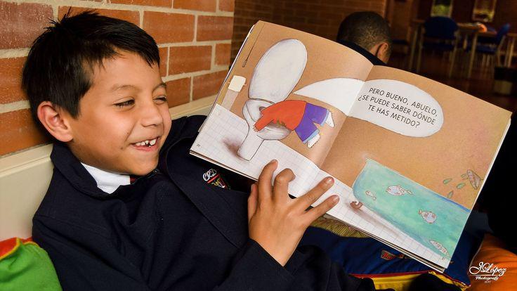 Con sencillas lecturas como esta, los niños aprenden y se divierten junto al maravilloso mundo que un libro abierto trae a sus creativas mentes.  #AprenderJugando #YoQuieroEstudiar