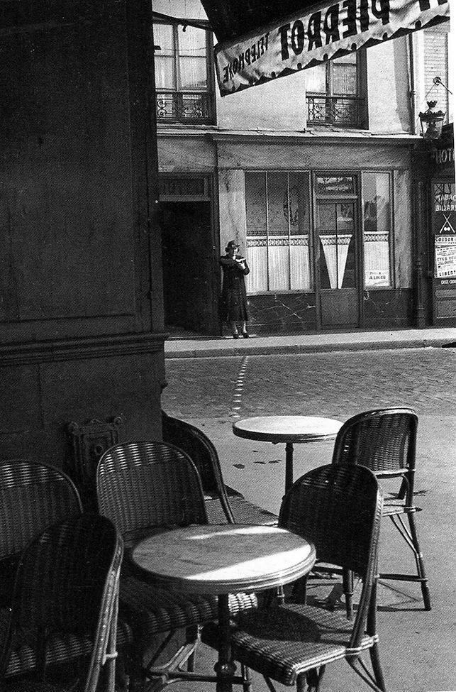 Rene-Jacques; Angle de la rue Charbonniere et de la rue de Chartres. Paris. 1936