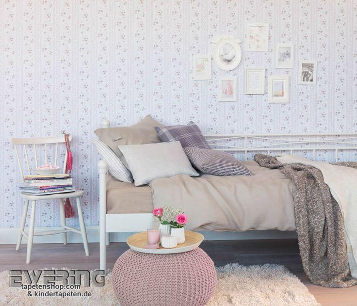 37 besten Petite Fleur - Tapeten im Landhaus Chic von Rasch Textil ...
