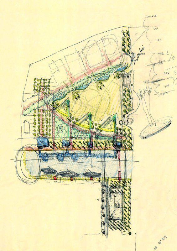 107 best Sketch images on Pinterest Architectural sketches