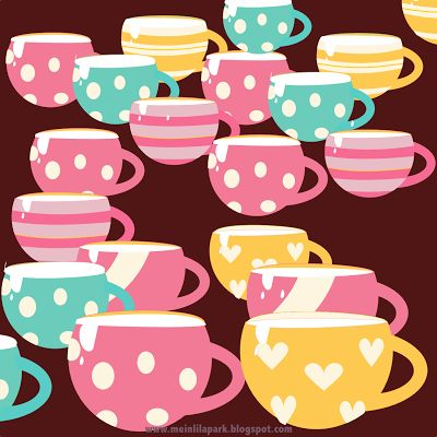 FREE printable coffee scrapbooking papers
