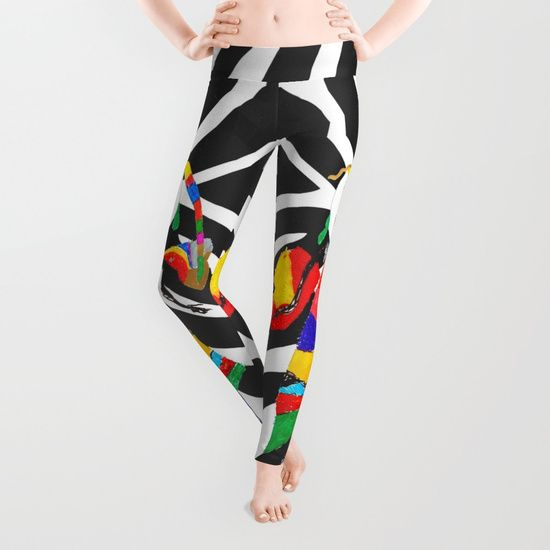#ShareMySociety6 @society6 #Summer2017 #reiki #yoga #meditation #zebra #rainbow #fairy #pop #art #wallart #leggings  https://society6.com/product/rainbow-zebra-fairy-society6_leggings
