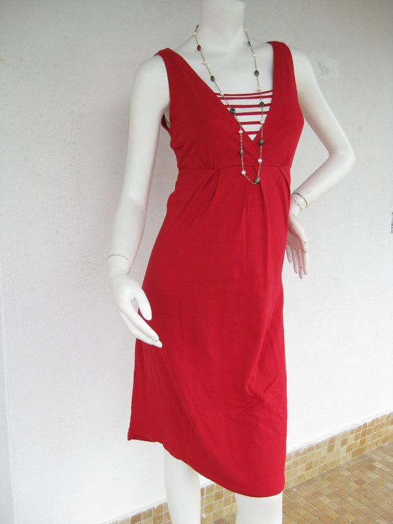 NAUTICAL Maternity Dresses / Nursing Dress / Breastfeeding Dress / Nursing Clothes / NEW / RED Dress / Maternity Clothes / Free Shipping on Etsy, $38.00