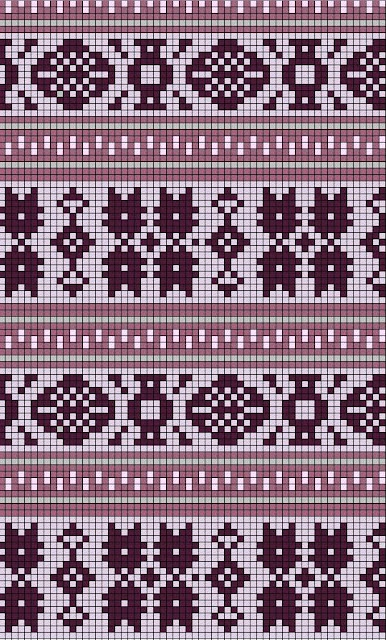 Knitted Throws Free Patterns : 17 basta ideer om Stickningsmonster pa Pinterest Fair isle stickning, Korss...