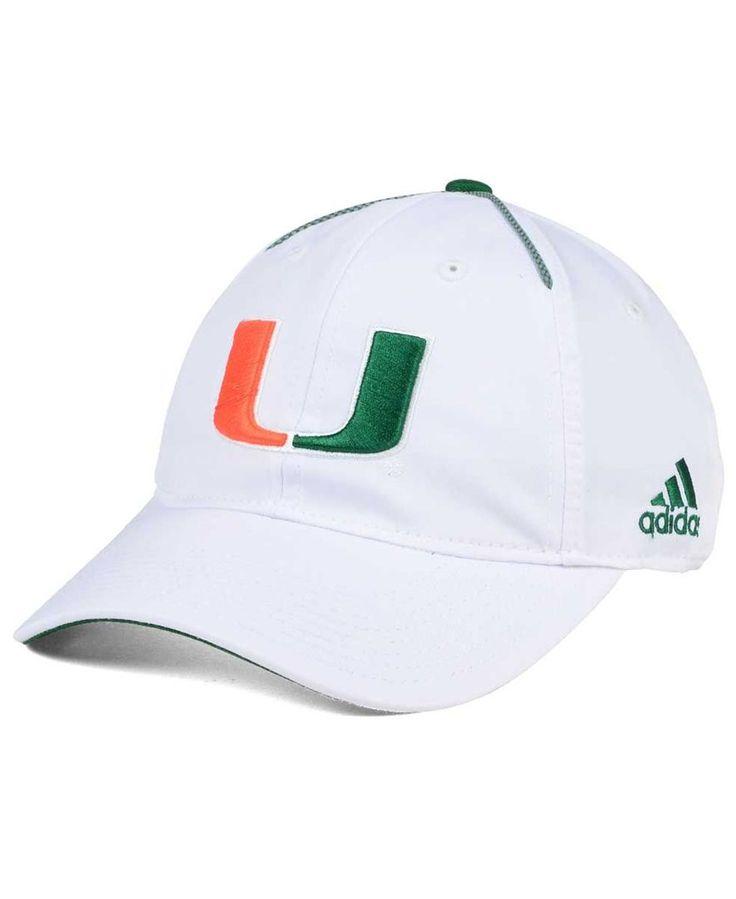 adidas Miami Hurricanes Spring Game Easy Adjustable Cap