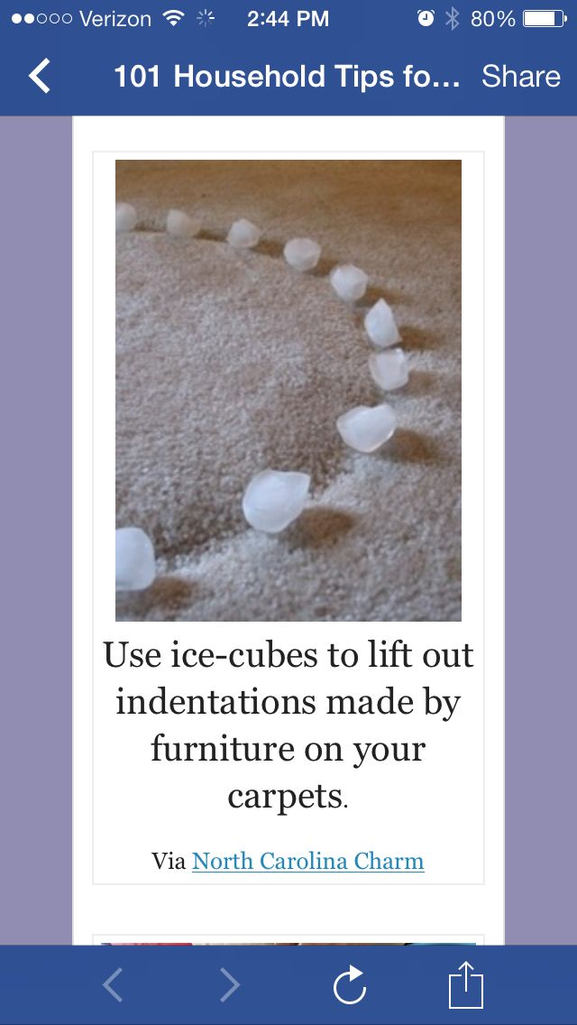Interesting! Might keep this in mind when you move furniture around!