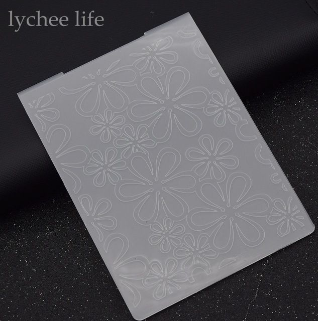 Lychee Plastic Embossing Map Voor Scrapbook Template Stempel Card Maken Decoratie DIY Handgemaakte Album Card Tool in Lychee Plastic Embossing Map Voor Scrapbook Template Stempel Card Maken Decoratie DIY Handgemaakte Album Card Tool van Postzegels op AliExpress.com | Alibaba Groep