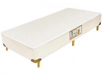Box para Colchão Solteiro 88x188cm - Castor Gold Star Kingdom Aloe Vera