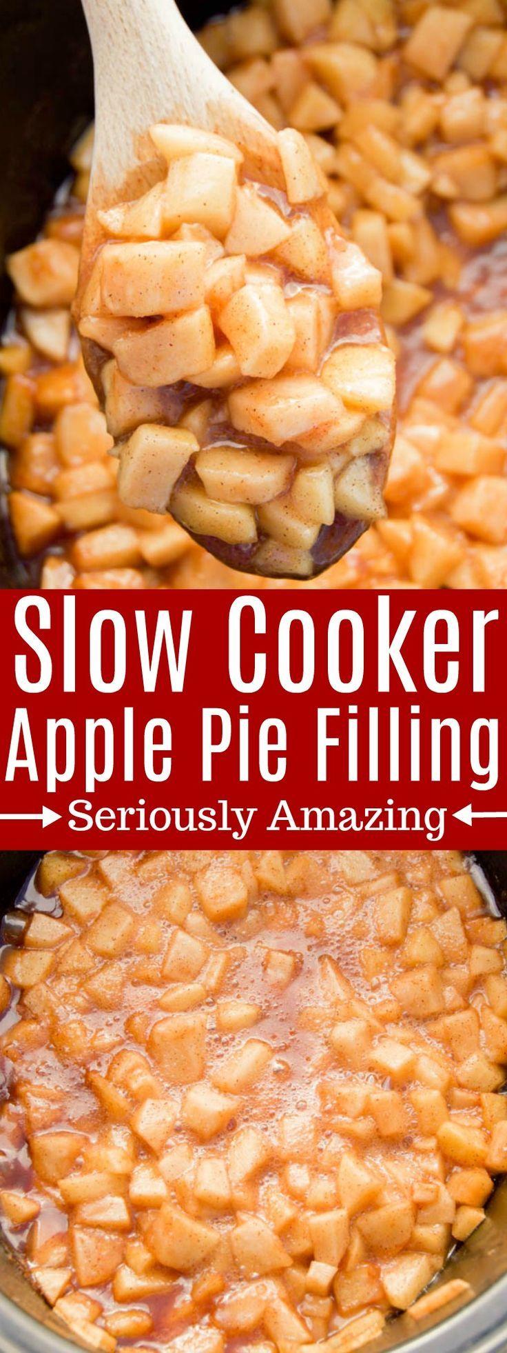 Slow Cooker Apfelkuchenfüllung – Kochrezepte – # Apfelkuchenfüllung #Koch …   – Torten Rezepte