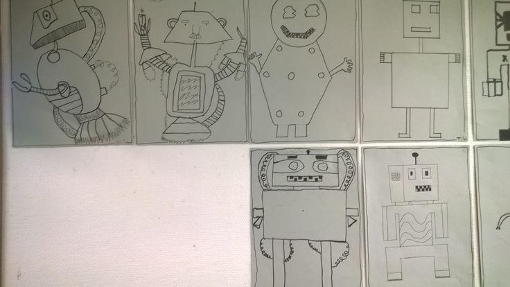 Robotteja viivottimella
