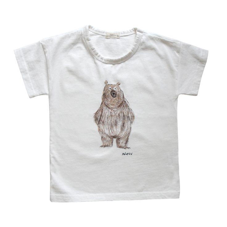 Navi White Bear T-shirt