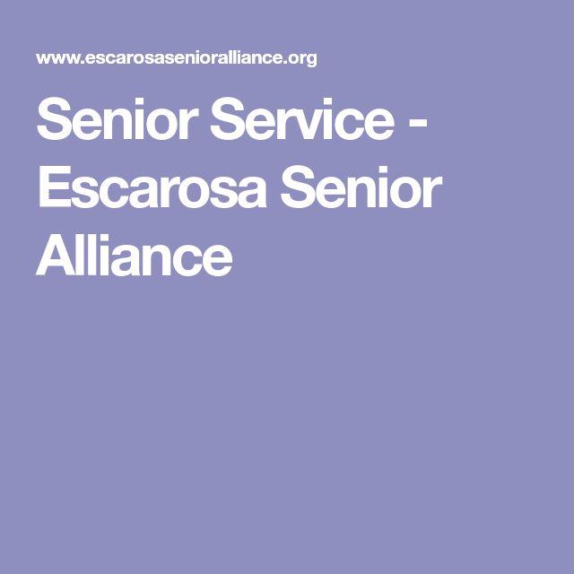 Senior Service - Escarosa Senior Alliance