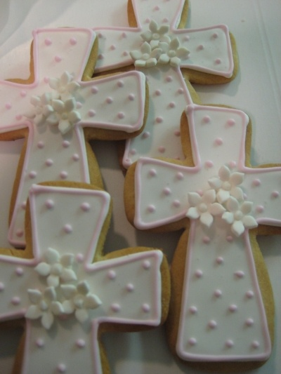 First Communion Cookies By Silvia715 on CakeCentral.com