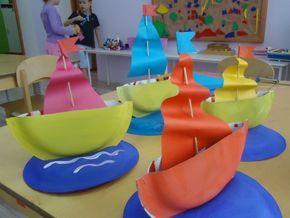 Поделки из одноразовых тарелок к 23 февраля - Для воспитателей детских садов - Маам.ру