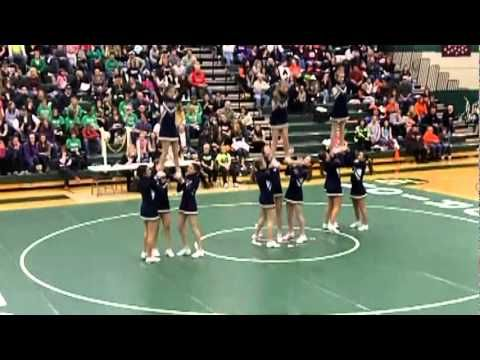 High school cheerleading FAIL!! - YouTube