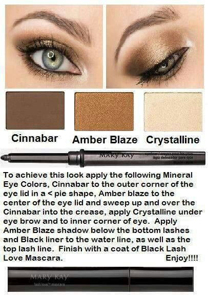 Mary Kay makeup combinations. Smoky Eye. As a Mary Kay beauty consultant I can help you, please let me know what you would like or need. www.marykay.com/KathleenJohnson www.facebook.com/KathysDaySpa