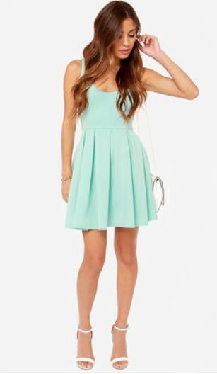 LULUS Exclusive Close to You Mint Blue Dress - Lulus