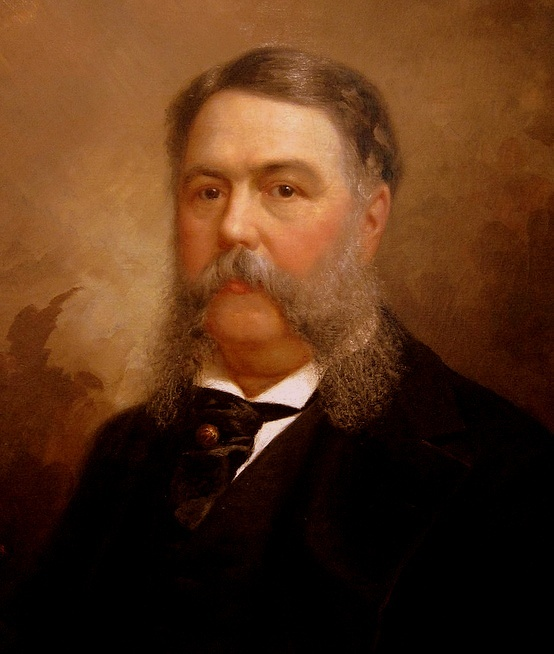 Chester A. Arthur: Born: 10-5-1829, Fairfield, Vermont - Died: 11-18 -1886, New York City. Spouse:  Ellen Lewis Herndon Arthur. Children	- William, Chester, & Ellen 21st #President of the United States 22nd #FirstLady (Ellen past away a year before the President took office) First Lady rolls were filled by Mary Arthur McElroy, The President's Sister. #PresidentsOfUSA
