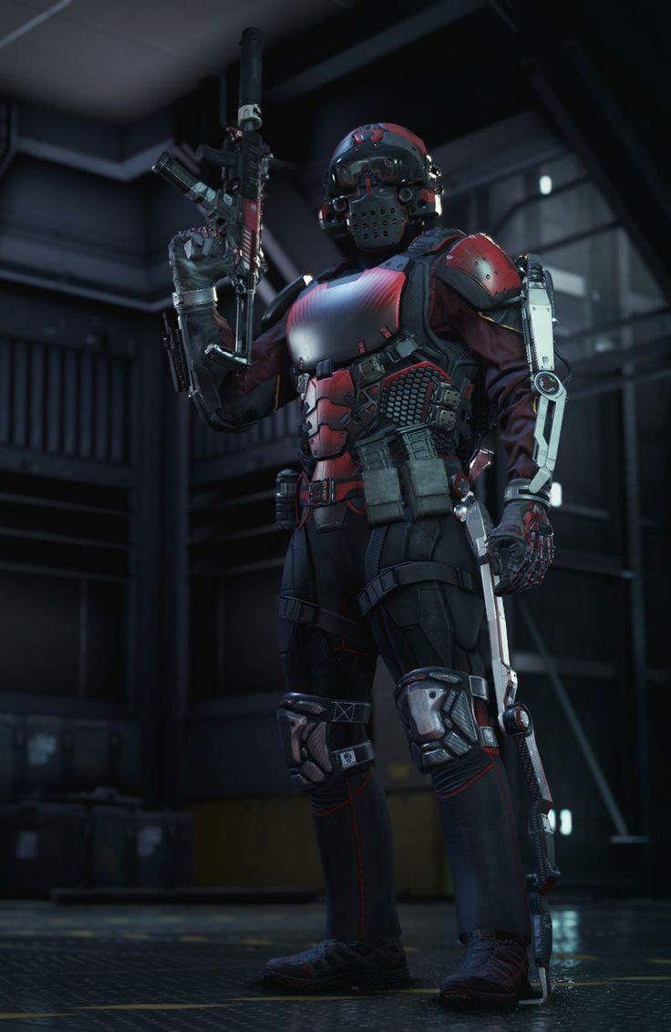 Four brand new Advanced Warfare multiplayer screenshots | Call of Duty ...