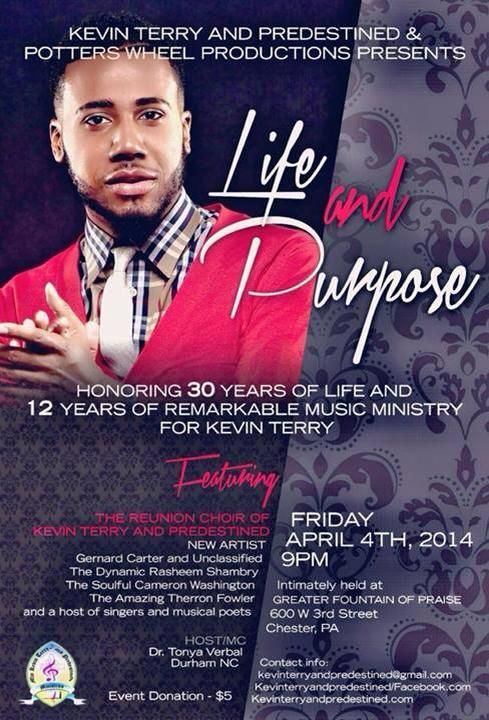 Scandalized Gospel Artist Kevin Terry Makes a Comeback at Greater Fountain of Praise | AT2W
