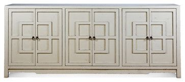 Greek Key Cabinet Colors and Sizes - asian - Buffets And Sideboards - Other Metro - Charlotte and Ivy