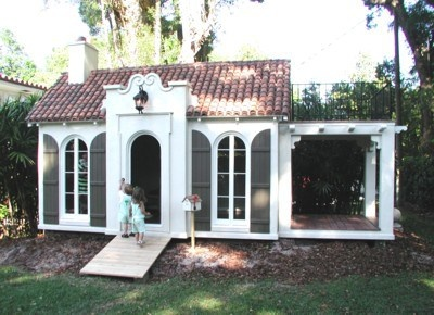 luxury playhouses | Whimsy