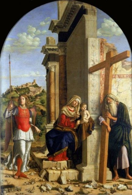 opere di Cima da Conegliano in esposizione al Musée du Luxembourg a Parigi