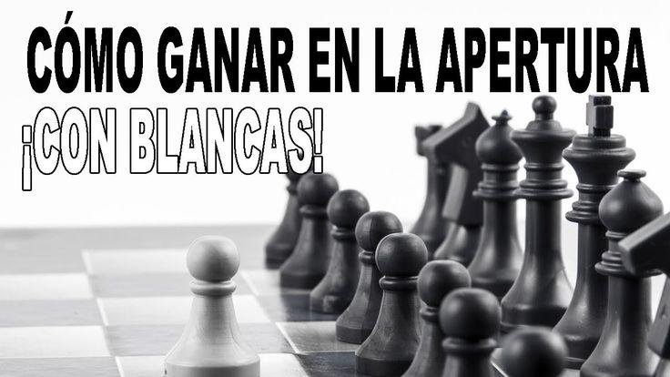 ¡Cómo ganar en la apertura con las blancas: 3 celadas de ajedrez!