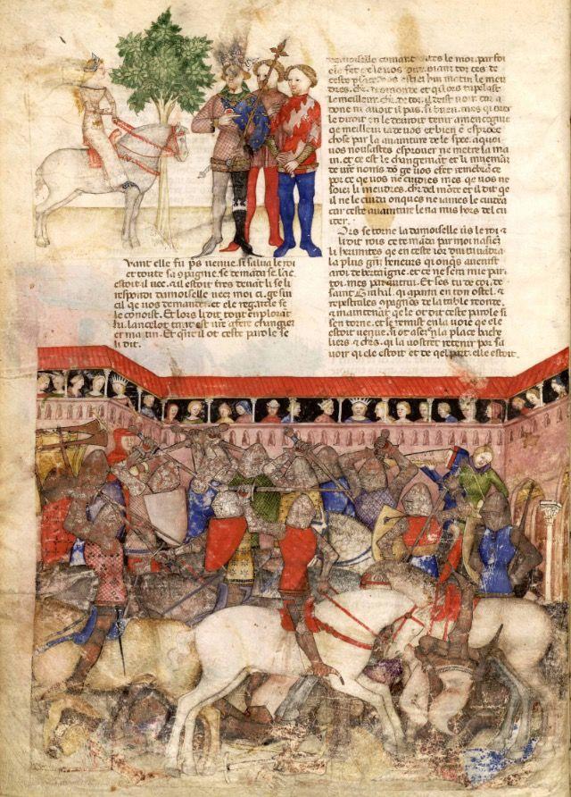 best queste del saint graal images th century bnf 343 queste del saint graal milan 1380 85 pby