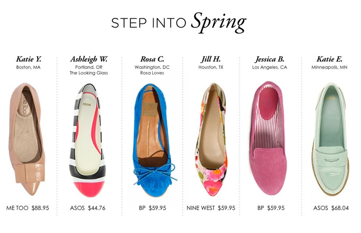 everygirls around the globe helped us find flats for less than $100: Everygirl Pick, Fashion Flats, Theeverygirl Springflat, Ballet Flats, Theeverygirl Com, Finding Flats, Globes Help, 100 Theeverygirl, Spring Flats