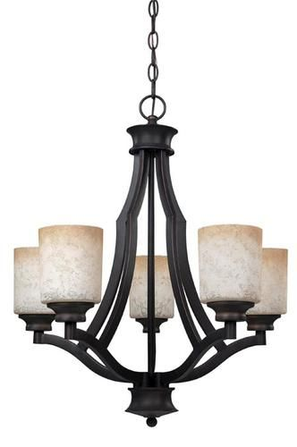 Foyer Lighting Menards : Warren light quot rubbed antique bronze chandelier at