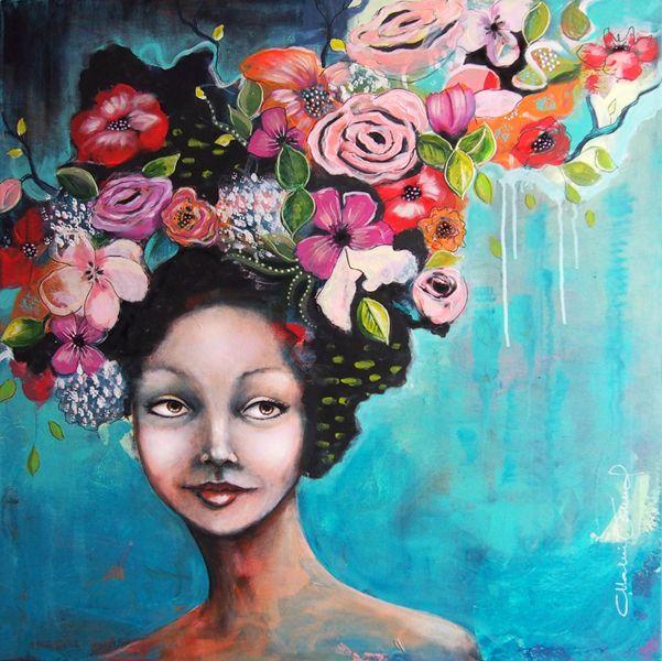 Flowers in my hair! -  Malin Östlund