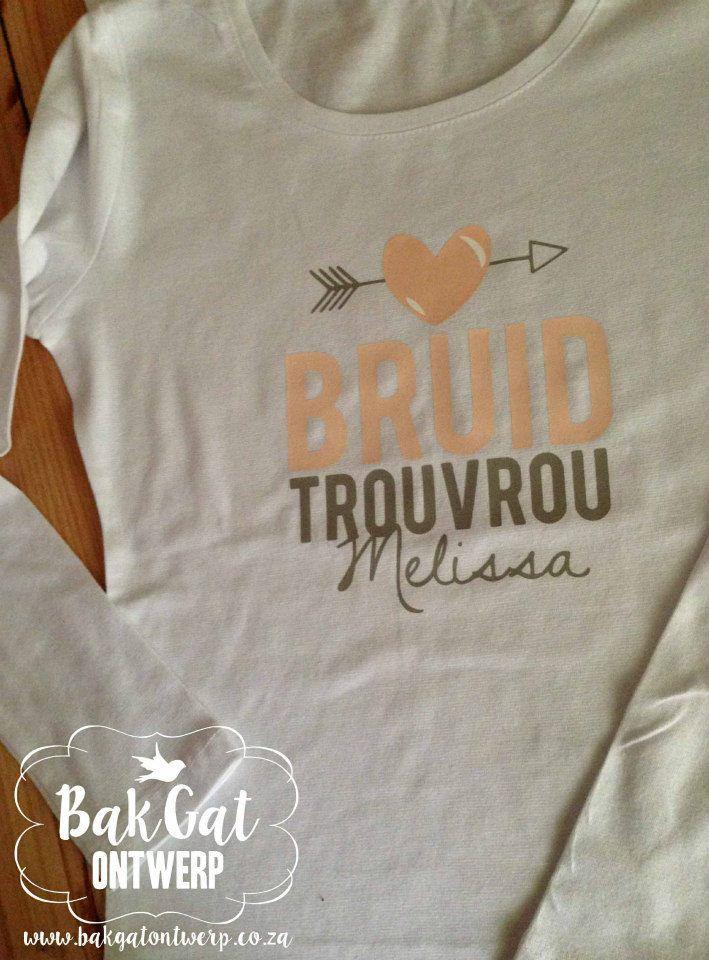 Personalised clothing #bride