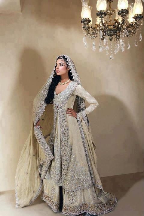 Bridal Sharara The work! This Beautiful!