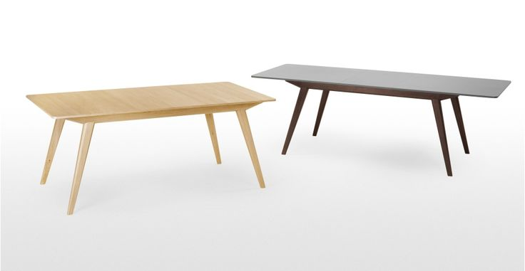 Aveiro Extending Dining Table Oak Made Com Furniture
